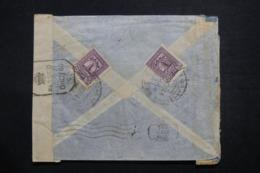 IRAQ - Enveloppe Commerciale De Baghdad Pour Bombay En 1944, Affranchissement Plaisant Au Verso + Contrôle  - L 42764 - Iraq