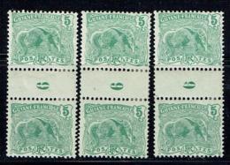Guyane - N° 52* -  Millésime 6 Normal Et 2 X 6 Cassé - Guyane Française (1886-1949)