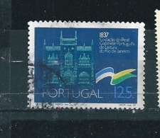 N° 1708 Cabinet Royale De Lecture Timbre Portugal (1987 ) Oblitéré - Oblitérés