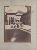 Photographie - Photographie Fin XIXème Siècle - Espana - Granada - Alhambra -  Patio Des 12 Leones - Photographie