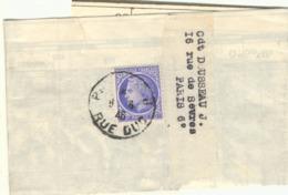 60C MAZELIN SUR BANDE COMPLETE TARIF JOURNAL 8/06/46 - PEU COMMUN - Marcophilie (Lettres)