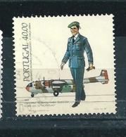 N° 1602 Costume De Pilote Et Noratlas Timbre Portugal (1984 ) Oblitéré - Oblitérés