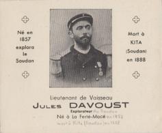 Marine Française - Lieutenant De Vaisseau Jules Davoust - Explorateur La Ferté-Macé 61 - Soudan Kita - Personajes