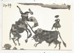 Cp, Arts , Peinture & Tabeaux , PICASSO , Corrida , Toros Y Toreros II ,ed. Cercle D'art - Schilderijen