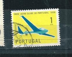 N° 864 Aviation Vol à Voile Cinquantenaire De Làero-Club De Portugal   Timbre Portugal (1960 ) Oblitéré - 1910-... République