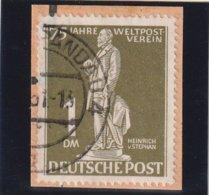 Berlin 1949 Michel Nr. 40, 1 Mark Auf Briefstück, Michel 120,- Euro - [5] Berlin