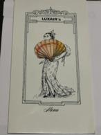 Menu Luxair - Postcards