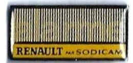 RENAULT - R41 -  ALARME RENAULT Par SODICAM - Verso : SM - Renault