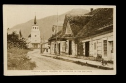 C2293 USA ALASKA - STIKA - RUSSIAN GREEK CHURCH ST. MICHAELS IN THE DISTANCE - SCENIC PHOTO PUBLISHING - Sitka