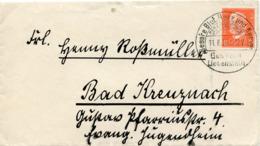 (Lo3600) Brief DR SSt. Bad Liebenstein N. Bad Kreuznach - Covers