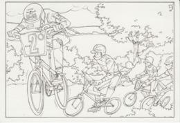 Ireland - Kiddy Colour Card: BMX Cycling - Postal Stationery Card MNH ** - Radsport