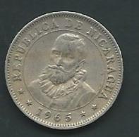 NICARAGUA 10 CENTAVOS 1965    Pia 21502 - Nicaragua