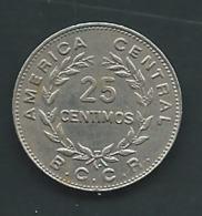 25 CENTIMOS 1972 COSTA RICA   Pia 21601 - Costa Rica