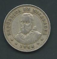 NICARAGUA 25 CENTAVOS 1964   Pia 21702 - Nicaragua
