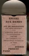 """""""EPITRE AUX DAMES"""" Jeu De Divination De 32 Cartes Divinatoires +1 Carte Consultant Et Une Notice Explicative, Jeu Neuf - Jeux De Société"""