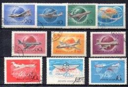 Rusia Series Completa Nº Yvert 108/11 Y 115/17 O - 1923-1991 USSR