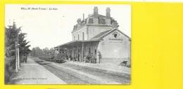 BELLAC La Gare (Bouquet) Haute Vienne (87) - Bellac