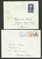 Lot 2 Enveloppes - Marcophilie (Lettres)
