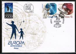 CEPT 2009 RS MI 300-01 SERBIA FDC - Europa-CEPT