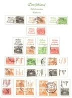 Berlin Belle Petite Collection De Paires Et Blocs De Carnets Oblitérés 1949. Forte Cote. B/TB. A Saisir! - Used Stamps