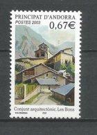 ANDORRE ANDORRA 2003 N°578 NEUF** NMH - Unused Stamps