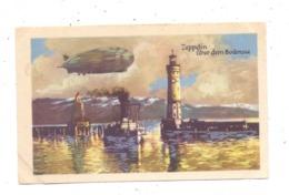 ZEPPELIN - Zeppelin über Dem Bodensee, Homann-Sammelbild - Airships