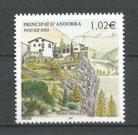 ANDORRE ANDORRA 2003 N°579 NEUF** NMH - Unused Stamps