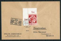 Alemania Imperio Nº 668 (S) Circulado - Año 1940 - Covers