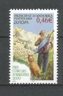 ANDORRE ANDORRA 2003 N°580 NEUF** NMH - Unused Stamps