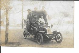 Automobile - Photo Carte - Voiture Ancienne - Circulé - 2 Scans. - Turismo