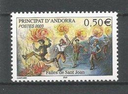 ANDORRE ANDORRA 2003 N°581 NEUF** NMH - Unused Stamps