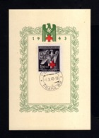 S377-GERMAN EMPIRE-MILITARY PROPAGANDA CARD RED CROSS Prag.1943.WWII.DEUTSCHES REICH.POSTKARTE.carte Postale - Germany