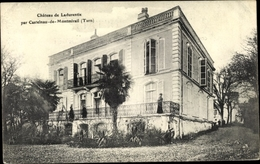 Cp Castelnau De Montmirail Tarn, Chateau De Ladurentie - Autres Communes