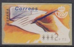 Spain 1995 - ATM 10: Hand Writing Letter - 4-digits Value Mi 10.1 ** MNH - 1991-00 Nuevos & Fijasellos