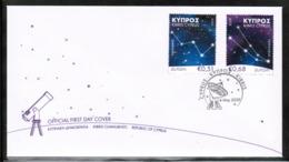 CEPT 2009 CY MI 1148-49 CYPRUS FDC - 2009