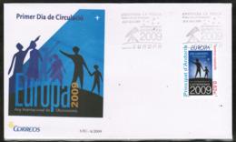CEPT 2009 AD ES MI 361 ANDORRA SPAIN FDC - Europa-CEPT