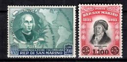 Saint-Marin YT N° 319 Et N° 357 Neufs ** MNH. TB. A Saisir! - San Marino