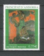 ANDORRE ANDORRA 2003 N°587 NEUF** NMH - Unused Stamps