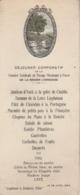 Lyon - LUGDUNUM & Dominion Hotel : Déjeuner Corprratif De La Chambre Syndicale Du Tissage Mécanique à Façon - 18 X 7,5cm - Menus