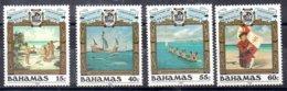 Bahamas Serie Completa Nº Yvert 768/71 (**) BARCOS (SHIPS) - Bahamas (1973-...)