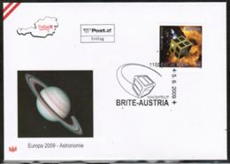 CEPT 2009 AT MI 2814 AUSTRIA FDC - Europa-CEPT