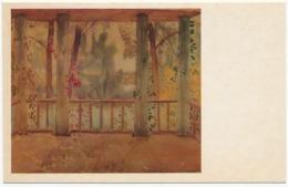 RUSSIA - RUSSIE - RUSSLAND Borisov-Musatov Balcony In Autumn - Paintings