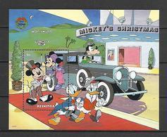 Disney Redonda 1990 Christmas - V-16 Cadillac MS MNH - Disney