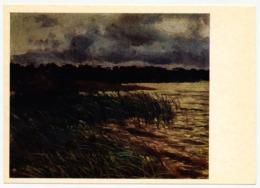RUSSIA - RUSSIE - RUSSLAND Borisov-Musatov Landscape With River - Paintings