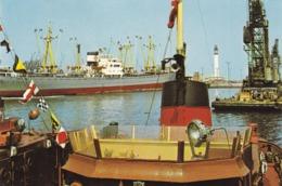 59. DUNKERQUE NORD CPSM.. RARETÉ.  LE PORT+ TEXTE - Dunkerque