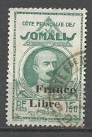 COTE DES SOMALIE N° 223 OBL - Oblitérés
