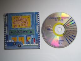CD PUBLICITAIRE PROMO CHAMOIS D'OR - LES GRANDES MUSIQUES DE FILMS - CINEMA - Filmmusik