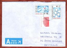Brief, Rotes Kreuz U.a., Waarschoot Nach Leonberg 2018 (80113) - Belgium