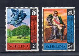 ISOLA DI ST. HELENA - 1971 - Napoleone - 2 Valori - Nuovi - Linguellati * - (FDC17268) - Isola Di Sant'Elena