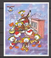 Disney Maldives 1995 Donald's Dixieland Band MS MNH - Disney